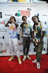 Migos at Sean Kingston Party