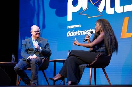 Bozoma Saint John at Pollstar Awards