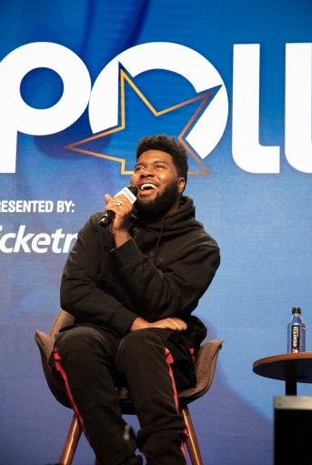 Khalid at Pollstar Awards
