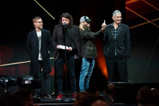 Foo Fighters at Pollstar Awards
