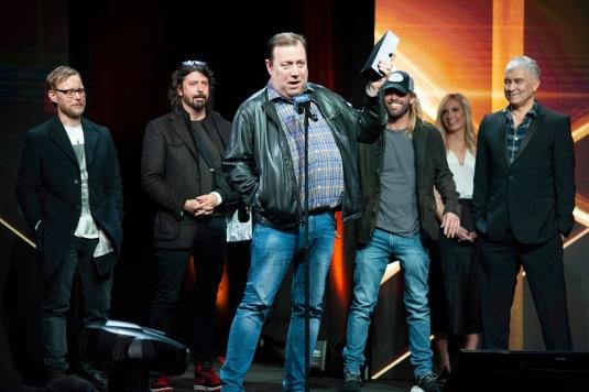 Foo Fighters at Pollstar Awards