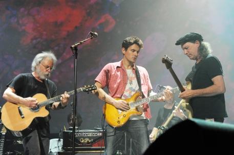 Bob Weir and Jon Mayer