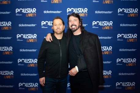 Arthur Fogel and Dave Grohl